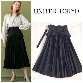 Ameri VINTAGE - UNITED TOKYO コルセットプリーツスカート