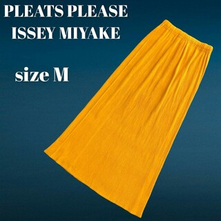 PLEATS PLEASE ISSEY MIYAKE - PLEATS PLEASE ISSEY MIYAKE  ロングスカート