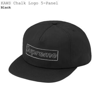 Supreme - Supreme KAWS Chalk Logo 5-Panel Black