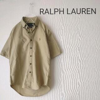 Ralph Lauren - RALPH LAUREN 上品カーキ 半袖シャツ☆