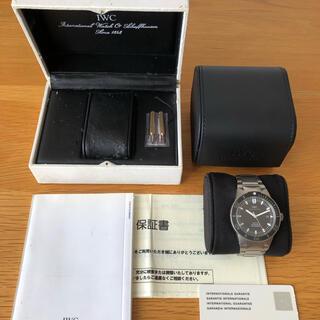 インターナショナルウォッチカンパニー(IWC)のIWC GSTアクアタイマー 2000 チタン IW353601(腕時計(アナログ))