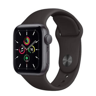 アップル(Apple)のApple Watch SE(腕時計(デジタル))