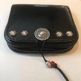 ゴローズ(goro's)のゴローズ goro's コインケース 財布 黒(コインケース/小銭入れ)