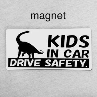 マグネット/キッズインカー ベビー ブラキオサウルス  ドライブ(外出用品)