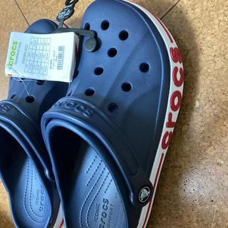 crocs - ラス3   25 ネイビー 最終値下げ