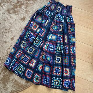 GO TO HOLLYWOOD - gotohollywood パッチワークプリント スカート