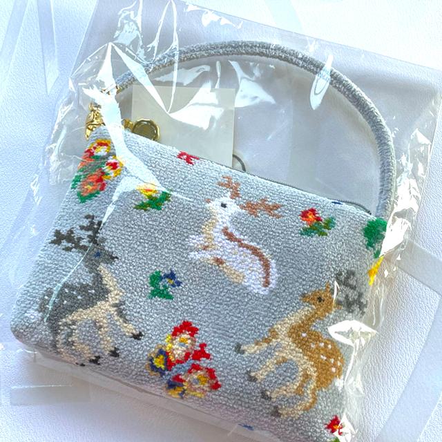 FEILER(フェイラー)のフェイラー×遊中川コラボ 携帯携帯バッグ🦌 レディースのバッグ(トートバッグ)の商品写真