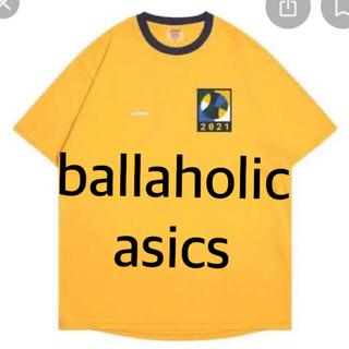 asics - Tシャツ イエロー  ボーラホリック アシックス 2021 ballaholic