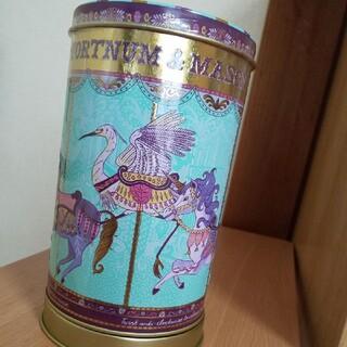 ハロッズ(Harrods)のフォートナム&メイソン オルゴール缶(菓子/デザート)