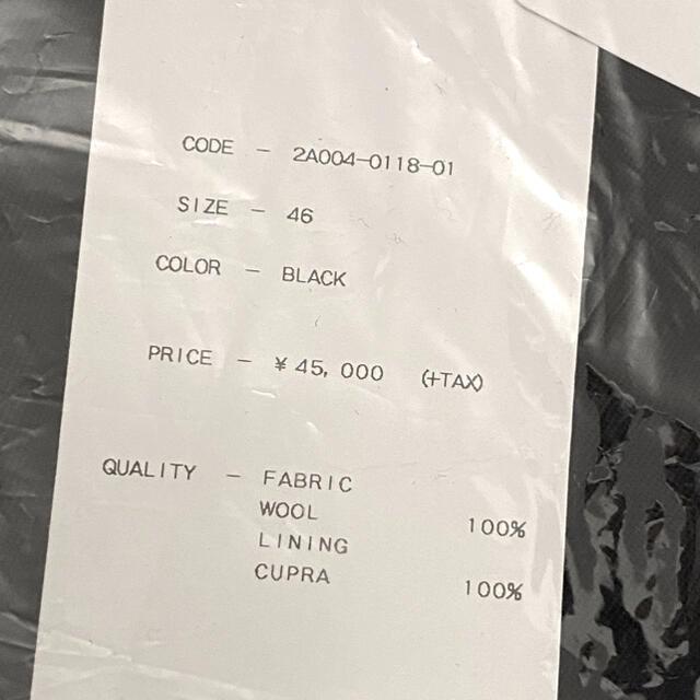 JOHN LAWRENCE SULLIVAN(ジョンローレンスサリバン)の19SS新品未使用ジョン ローレンス サリバン ワイドスラックス パンツ 46 メンズのパンツ(スラックス)の商品写真