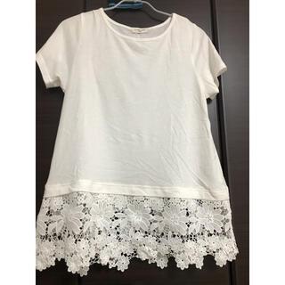 サマンサモスモス(SM2)のサマンサモスモス 花柄レース Tシャツ(Tシャツ(半袖/袖なし))
