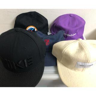 ナイキ(NIKE)の中古 キャップ 5点セット ストリート Union Nike Cap 帽子(キャップ)