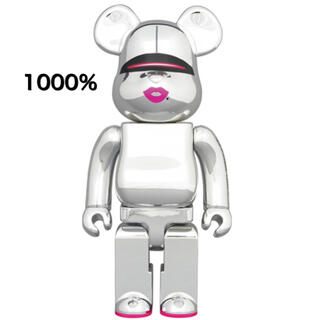 BE@RBRICK SORAYAMA 2G SILVER Ver. 1000%