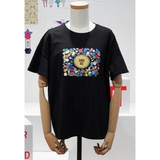 アナスイ(ANNA SUI)のUNIQLO ANNA SUI tpシャツ ブラック L(Tシャツ(半袖/袖なし))