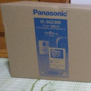 パナソニック(Panasonic)のワイヤレステレビドアホンキット VL-SGZ30K(その他)