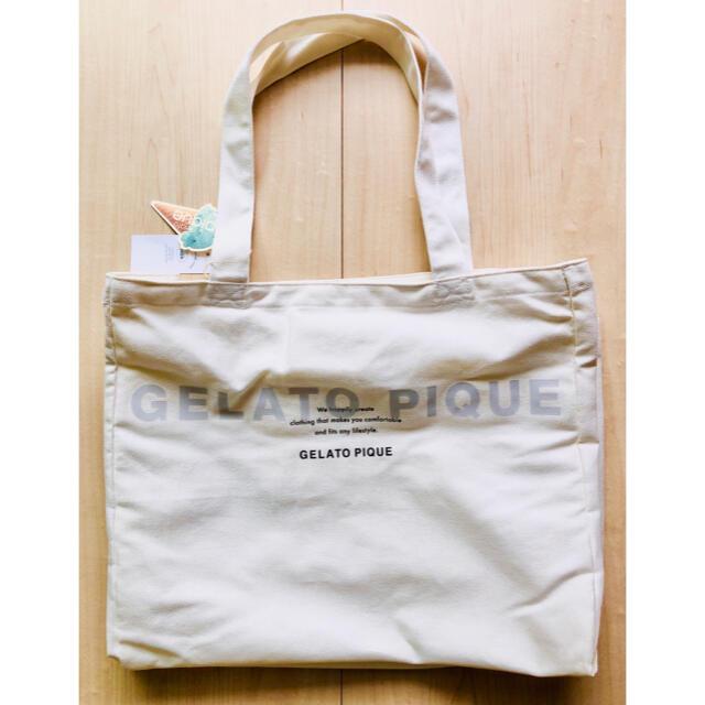 gelato pique(ジェラートピケ)の【maya様専用】新品ジェラートピケ トートバッグ  レディースのバッグ(トートバッグ)の商品写真