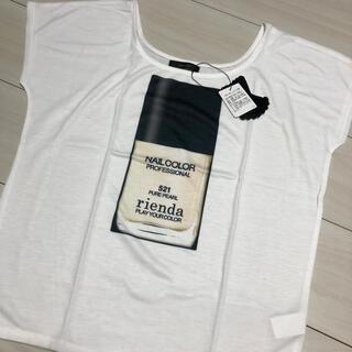 リエンダ(rienda)のrienda レアTシャツ‼︎(Tシャツ/カットソー(半袖/袖なし))