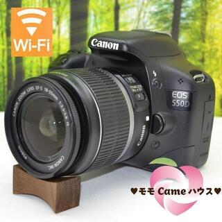 Canon - キヤノン Kiss X4☆珍しい欧州ロゴ♪WiFiSDでスマホ転送☆1719