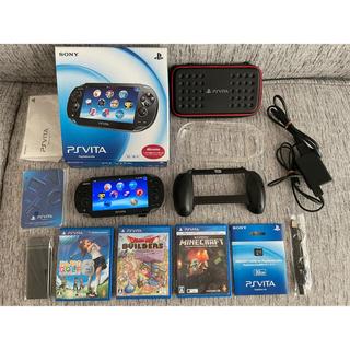 プレイステーションヴィータ(PlayStation Vita)のPlayStation®Vita PCH-1100 AB01 3G/Wi-Fi(携帯用ゲーム機本体)