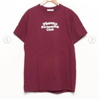 フィーニー(PHEENY)のpheenyとUNITED ARROWSのコラボTシャツ 新品未使用(カットソー(半袖/袖なし))
