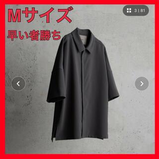 ハレ(HARE)の【ATTACHMENT × WYM】MINIMAL ZIP BOX SHIRT(シャツ)