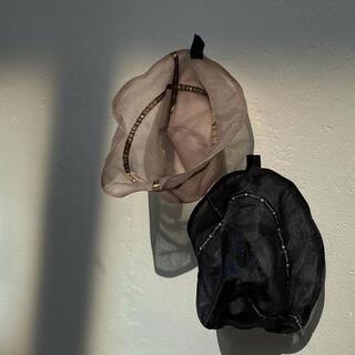 アメリヴィンテージ(Ameri VINTAGE)のMEDI REVERSIBLE SHEER BUCKET HAT(ハット)