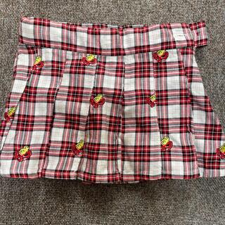 ヒステリックミニ(HYSTERIC MINI)の刺繍シャツ、スカートセトア(スカート)