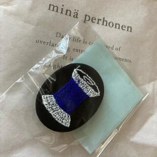ミナペルホネン(mina perhonen)のミナペルホネン thank you very badge(ブローチ/コサージュ)