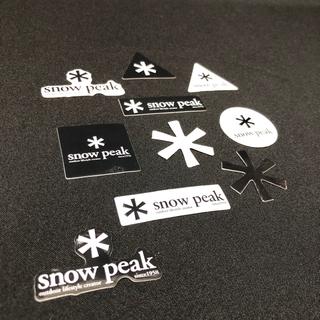 スノーピーク(Snow Peak)のスノーピーク ステッカー シール 各種10枚セット(その他)