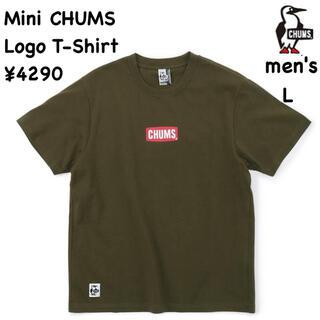 チャムス(CHUMS)のCHUMS チャムス★ミニチャムスロゴTシャツ 半袖/メンズL(Tシャツ/カットソー(半袖/袖なし))