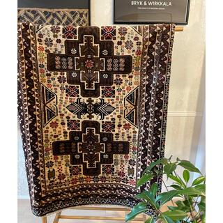 イデー(IDEE)のAfghan Kazak rug 1980s アフガンカザックラグ(ラグ)