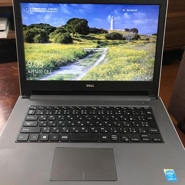 DELL(デル)のDELLノートパソコン本体 inspiron  スマホ/家電/カメラのPC/タブレット(ノートPC)の商品写真