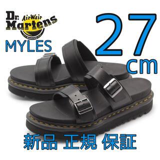 ドクターマーチン(Dr.Martens)のドクターマーチン マイルス MYLES 27cm UK8 厚底サンダル 新品(サンダル)