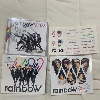ジャニーズウエスト(ジャニーズWEST)のジャニーズWEST Rainbow 初回盤 通常版 3形態セット♪(ポップス/ロック(邦楽))