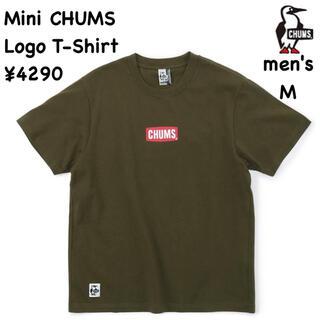 チャムス(CHUMS)のCHUMS チャムス★ミニチャムスロゴTシャツ 半袖/メンズM(Tシャツ/カットソー(半袖/袖なし))