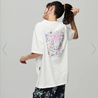 ケイタマルヤマ(KEITA MARUYAMA TOKYO PARIS)の新品未使用 ケイタマルヤマ GU コラボ バックプリントグラッフィック Tシャツ(Tシャツ(半袖/袖なし))