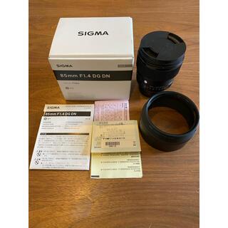 SIGMA - SIGMA 85mm F1.4 DG DN Art  ソニーE 単焦点レンズ