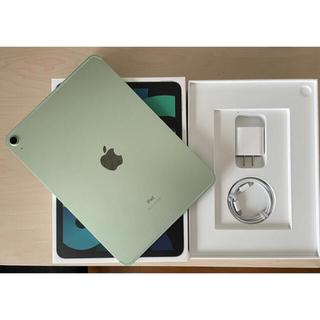 Apple - iPad Air4 Wi-Fi+cellular 第4世代 64GB グリーン