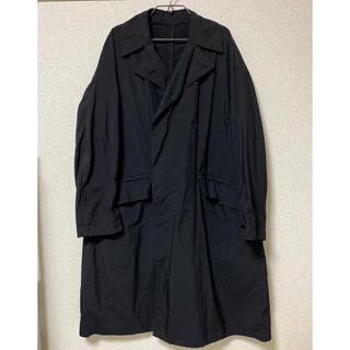 コモリ(COMOLI)の【カバー付き】TEATORA device coat p サイズ2 ブラック(ステンカラーコート)