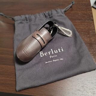 ベルルッティ(Berluti)の【Berluti ベルルッティ】 メンズ 革 ベルト 専用保存袋付き(ドレス/ビジネス)