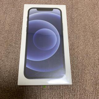 アイフォーン(iPhone)のiPhone12 ブラック 64GB SIMフリー 新品未開封品④(スマートフォン本体)