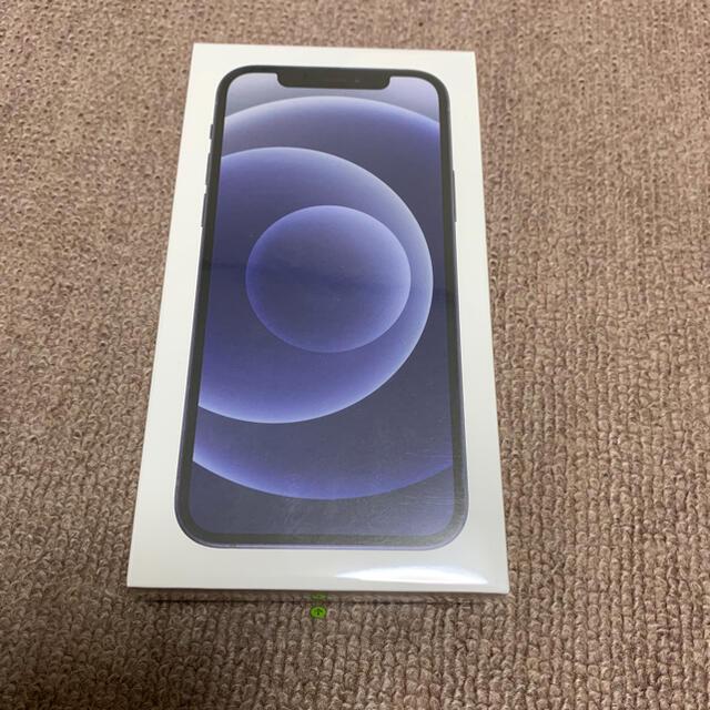 iPhone(アイフォーン)のiPhone12 ブラック 64GB SIMフリー 新品未開封品⑤ スマホ/家電/カメラのスマートフォン/携帯電話(スマートフォン本体)の商品写真