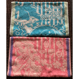 ディズニー(Disney)の新品 リトルマーメイド ラプンツェル のびのびタオル枕カバー(枕)