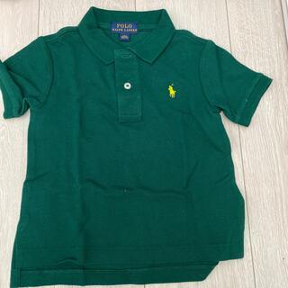 POLO RALPH LAUREN - ラルフローレン ポロシャツ 半袖 グリーン 90