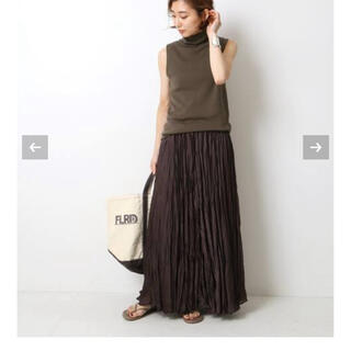 ドゥーズィエムクラス(DEUXIEME CLASSE)のDeuxieme Classe ドゥーズィエムクラス プリーツスカート スカート(ロングスカート)