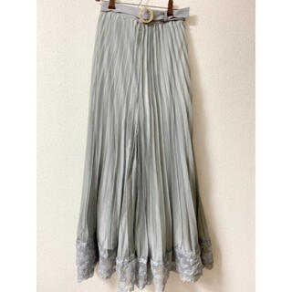 an another angelus - 【新品】レース使いシアープリーツパンツ ♡ an another angelus