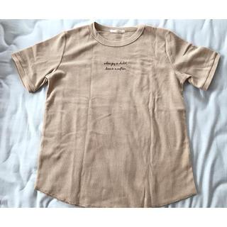 ehka sopo - サマンサモスモス SM2 Tシャツ ブラウス ブラウン 美品