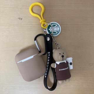 スターバックスコーヒー(Starbucks Coffee)のAirPodsケース お値下げ中!(キーホルダー)