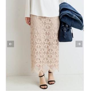IENA - イエナ♡《追加》レースタイトスカート 36