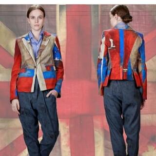 ヴィヴィアンウエストウッド(Vivienne Westwood)のviviennewestwood ユニオンジャック 国旗 ジャケット (テーラードジャケット)